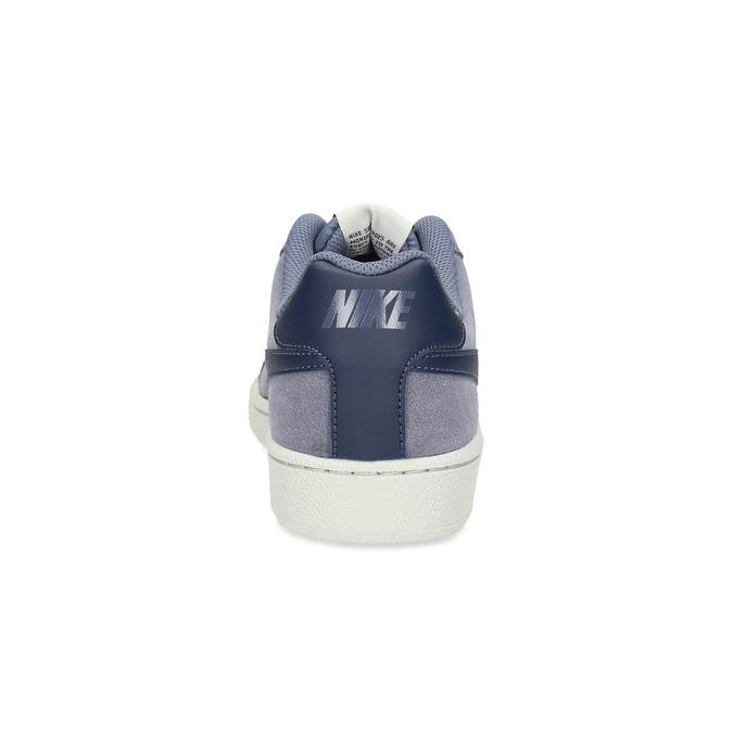 Ležérne pánske kožené tenisky nike, modrá, 803-9699 - 15