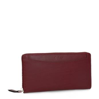Červená dámska kožená peňaženka gabor-bags, červená, 946-5003 - 13