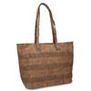 Shopper kabelka s perforovaným vzorom gabor-bags, hnedá, 961-3442 - 13