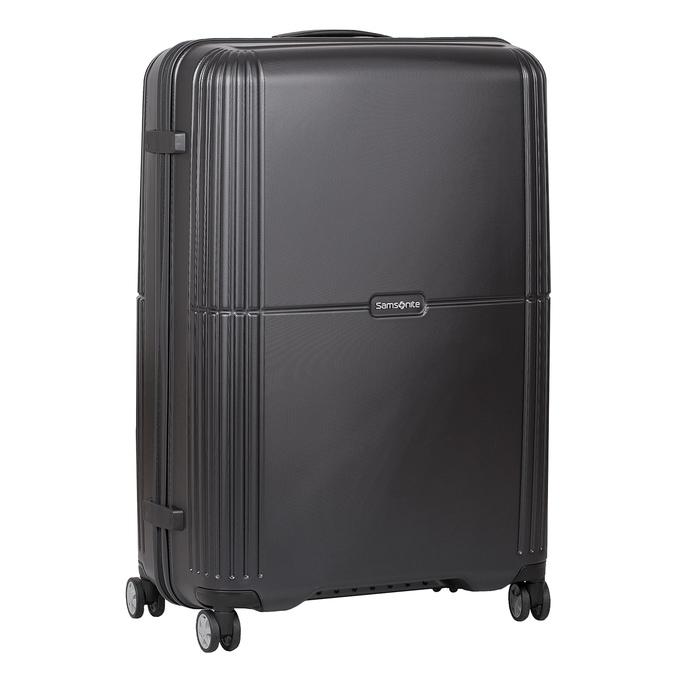 Škrupinový cestovný kufor samsonite, čierna, 960-6612 - 13