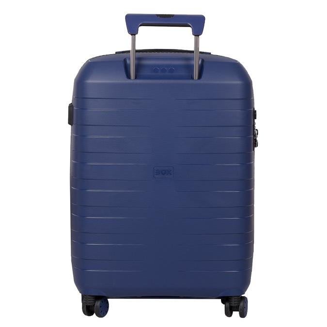 Menší cestovný kufor na koliečkach roncato, modrá, 960-9608 - 26