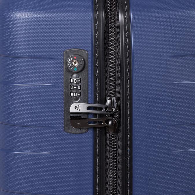 Modrý cestovný kufor na koliečkach roncato, modrá, 960-9610 - 15