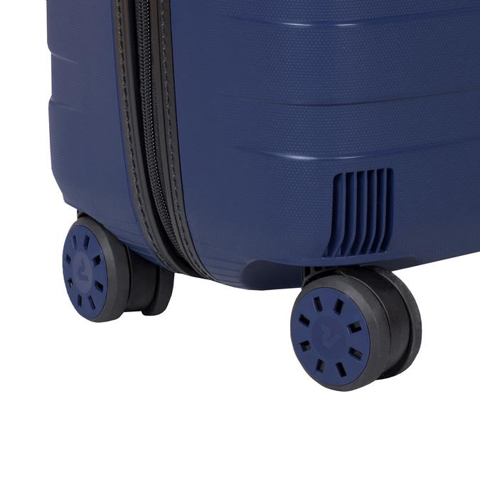 Modrý cestovný kufor na koliečkach roncato, modrá, 960-9610 - 16