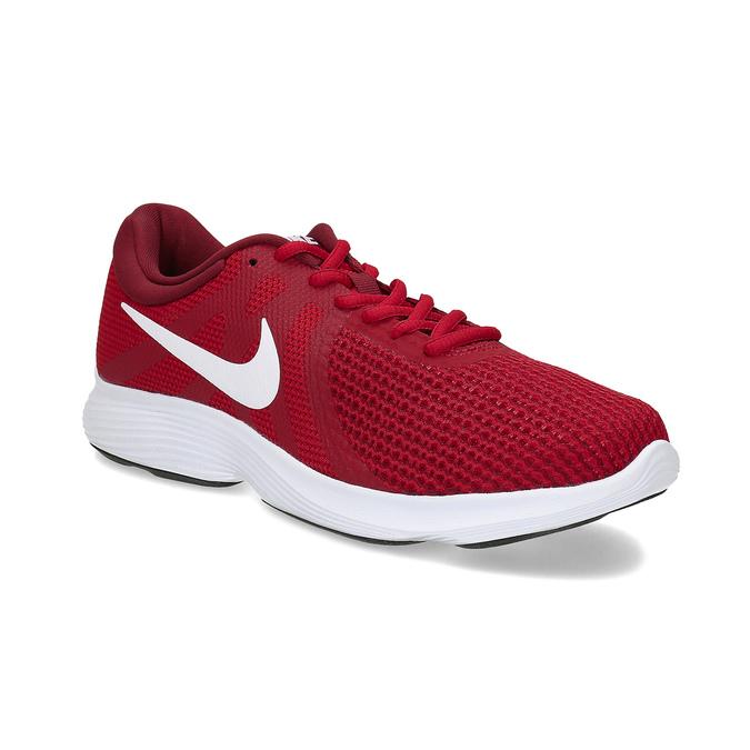 Červené pánske tenisky v športovom dizajne nike, červená, 809-5651 - 13
