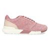 Ružové dámske tenisky z brúsenej kože le-coq-sportif, ružová, 503-5309 - 19