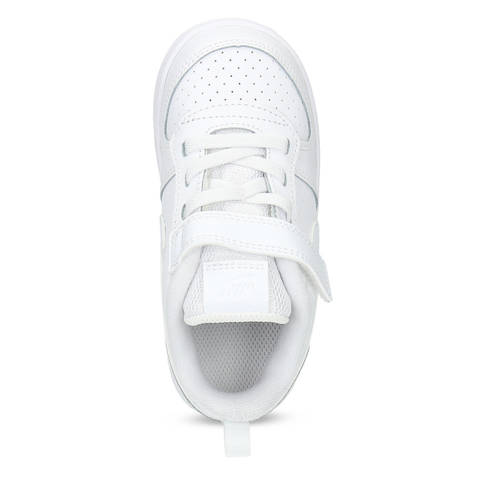Biele detské tenisky so suchým zipsom nike, biela, 101-1154 - 17
