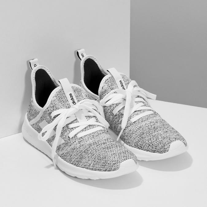 Tenisky s vykrojením v pätovej časti adidas, šedá, 509-2569 - 26