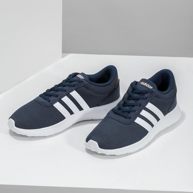 Modré chlapčenské tenisky športového strihu adidas, modrá, 409-9388 - 16