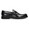 Čierne pánske kožené mokasíny bata, čierna, 814-6177 - 19