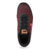 Pánske tenisky s pleteným zvrškom nike, červená, 809-5716 - 17