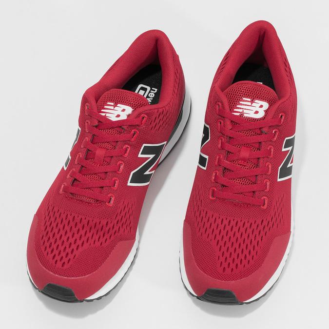 Pánske červené tenisky New Balance new-balance, červená, 809-5739 - 16