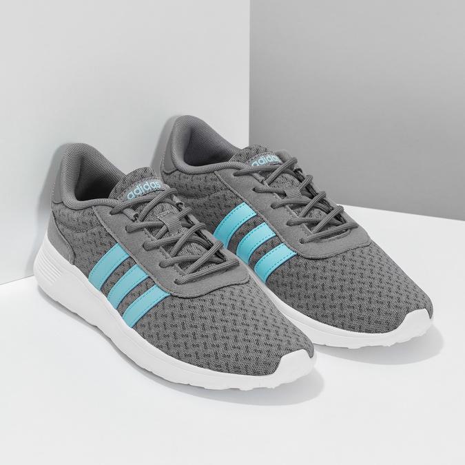 Adidas šedé dámske tenisky adidas, šedá, 509-2435 - 26