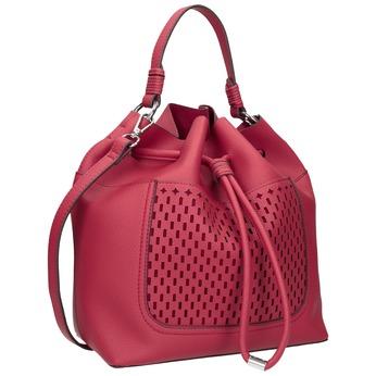 Červená Bucket Bag kabelka bata, červená, 961-5298 - 13