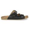 Pánske kožené nazuváky bata, čierna, 866-6648 - 19