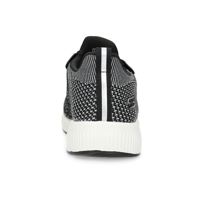 Dámske čierno-biele tenisky skechers, čierna, 509-6990 - 15