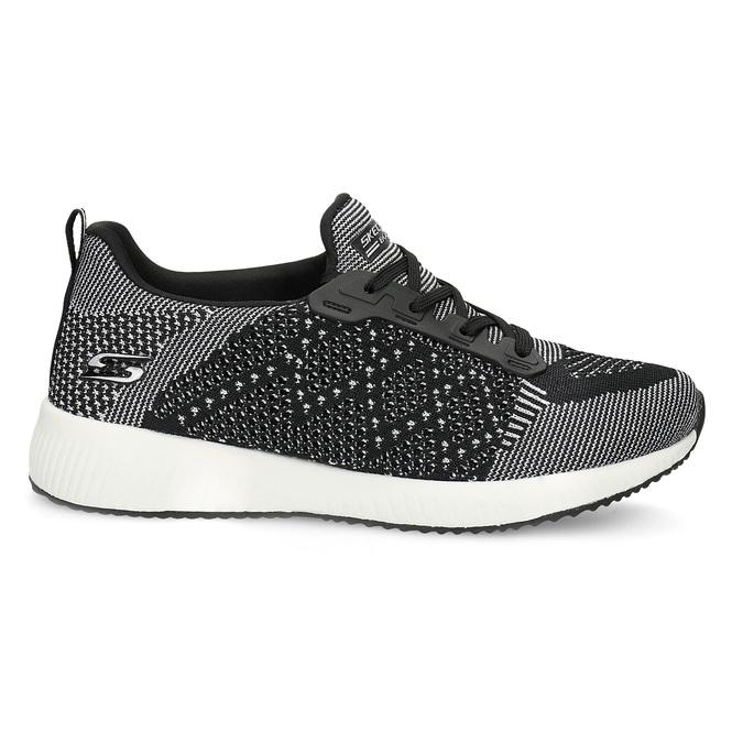 Dámske čierno-biele tenisky skechers, čierna, 509-6990 - 19