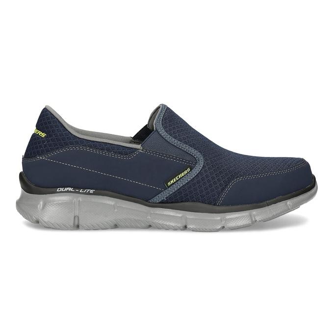 Slip-on športového strihu skechers, modrá, 809-9147 - 19