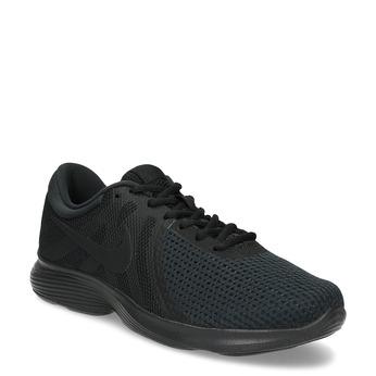 Pánske čierne tenisky nike, čierna, 809-6651 - 13