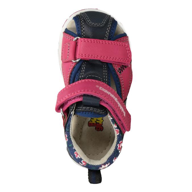 9691e7fd9 Dievčenské sandále na suchý zips bubblegummers, ružová, 161-5604 - 17