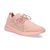 Dámske svetlé ružové tenisky z úpletu power, ružová, 509-5217 - 13