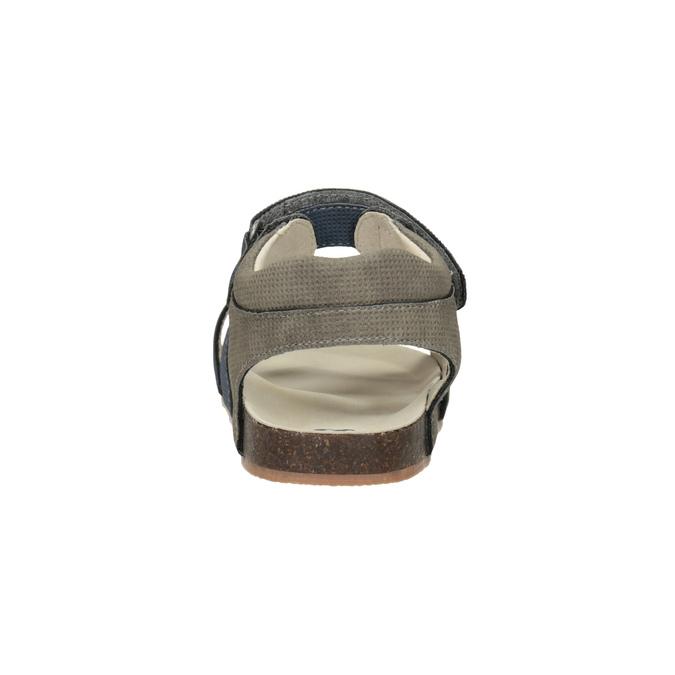 Detské sandále na suchý zips mini-b, modrá, 261-9609 - 15