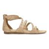 Dievčenské sandále s perličkami bullboxer, béžová, 361-8609 - 19