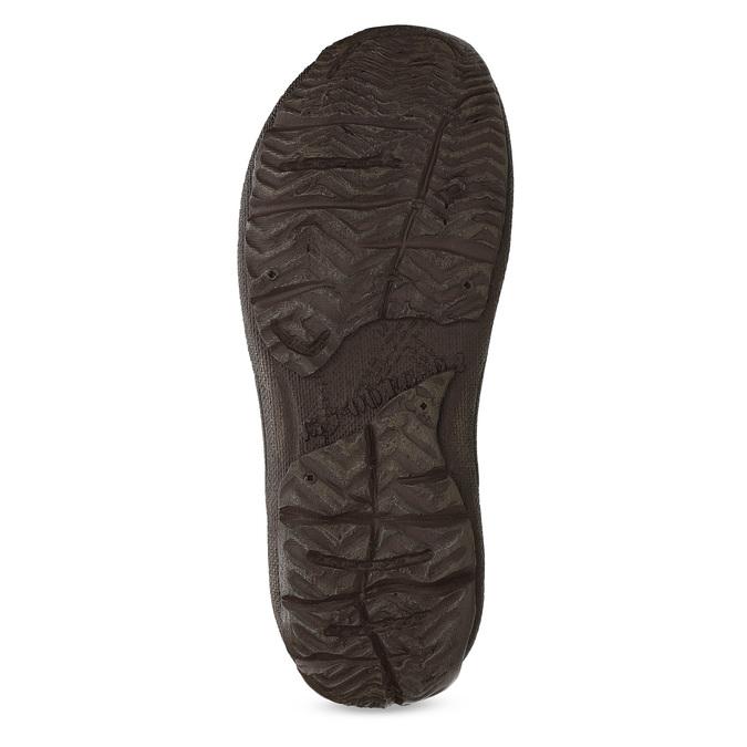 Pánske hnedé kožené sandále bata, hnedá, 866-2622 - 18