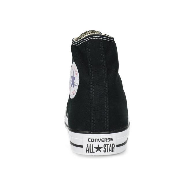 Pánske čierno-biele tenisky s gumovou špičkou converse, čierna, 889-6278 - 15