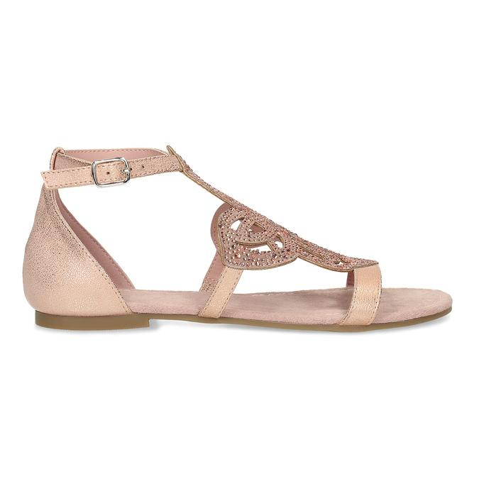 d140f839e6bb7 Staroružové dámske sandále s kamienkami bata, ružová, 561-5614 - 19