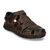 Kožené sandále so zavretou špičkou bata, hnedá, 866-4616 - 13