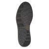 Pánska kožená členková obuv s prešitím bata, hnedá, 846-4645 - 18