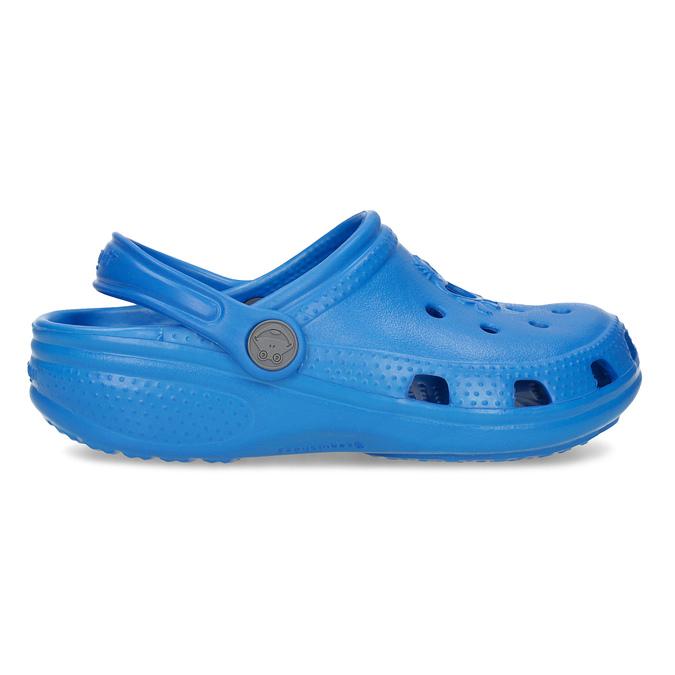 Modré detské sandále so žabkou coqui, modrá, 372-9655 - 19