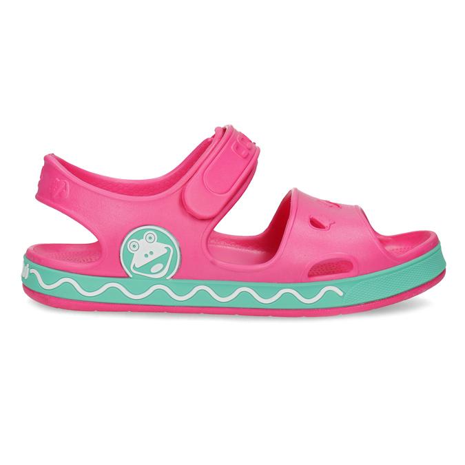 Detské ružové sandále dievčenské coqui, ružová, 372-5658 - 19