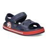Detské tmavomodré sandále coqui, modrá, 372-9658 - 13