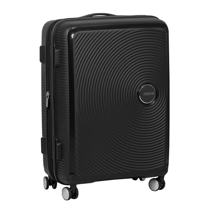 Čierny pevný kufor na kolečkách american-tourister, čierna, 960-6614 - 13
