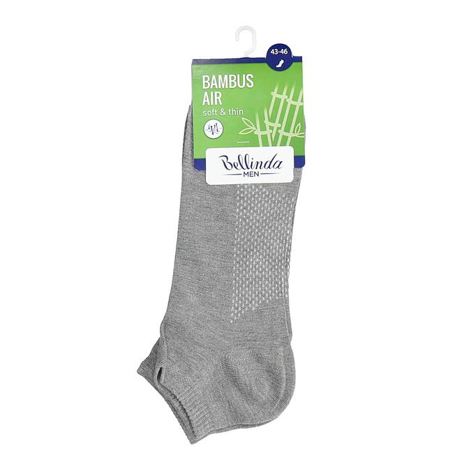 Pánske členkové šedé ponožky bellinda, šedá, 919-2906 - 13