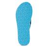 Dámske tyrkysové žabky s textilnými remienkami pata-pata, 579-9630 - 18
