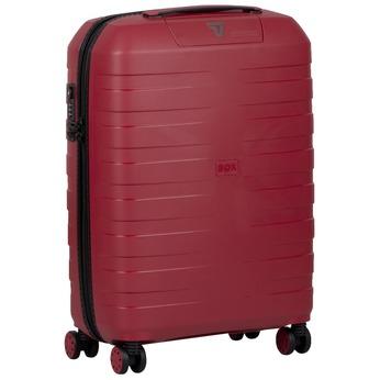 Stredne veľký červený kufor roncato, červená, 960-5728 - 13