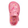 Ružové členkové prezuvky so vzorom bata, ružová, 179-5212 - 17