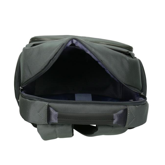 Šedý batoh s vreckom na notebook roncato, šedá, 969-2741 - 15