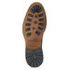 Pánske hnedé kožené Chelsea bata, hnedá, 826-3502 - 18