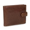 Pánska kožená hnedá peňaženka bata, hnedá, 944-3202 - 13