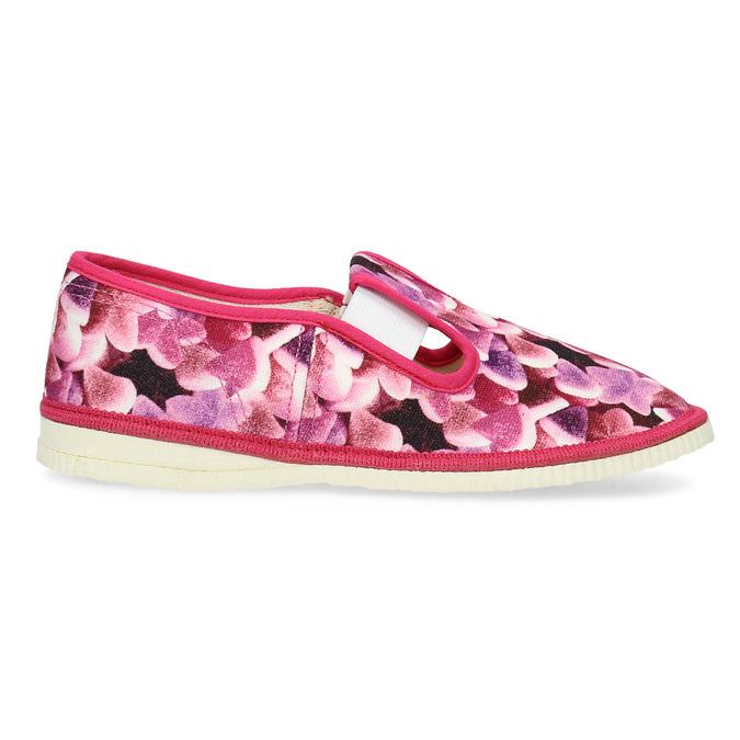 Ružové detské prezuvky so vzorom bata, ružová, 379-9123 - 19