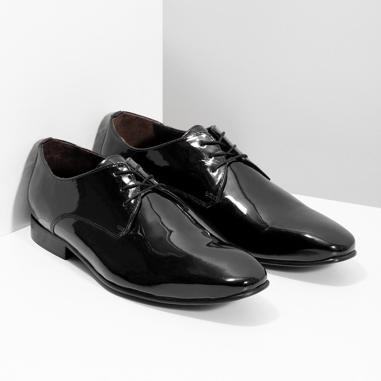 3850e4b224d8 Bata Pánske Derby poltopánky z lakovanej kože - Všetky topánky