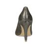 Zlaté kožené lodičky na ihličkovom podpätku insolia, zlatá, 726-8657 - 15