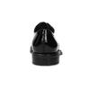 Kožené dámske lakované poltopánky vagabond, čierna, 528-6004 - 15