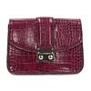 Vínová Crossbody kabelka s retiazkou bata, červená, 961-5869 - 26