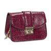 Vínová Crossbody kabelka s retiazkou bata, červená, 961-5869 - 13