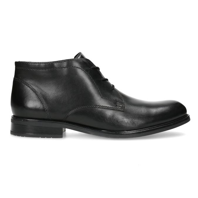 Kožená pánska členková obuv bata, čierna, 824-6893 - 19
