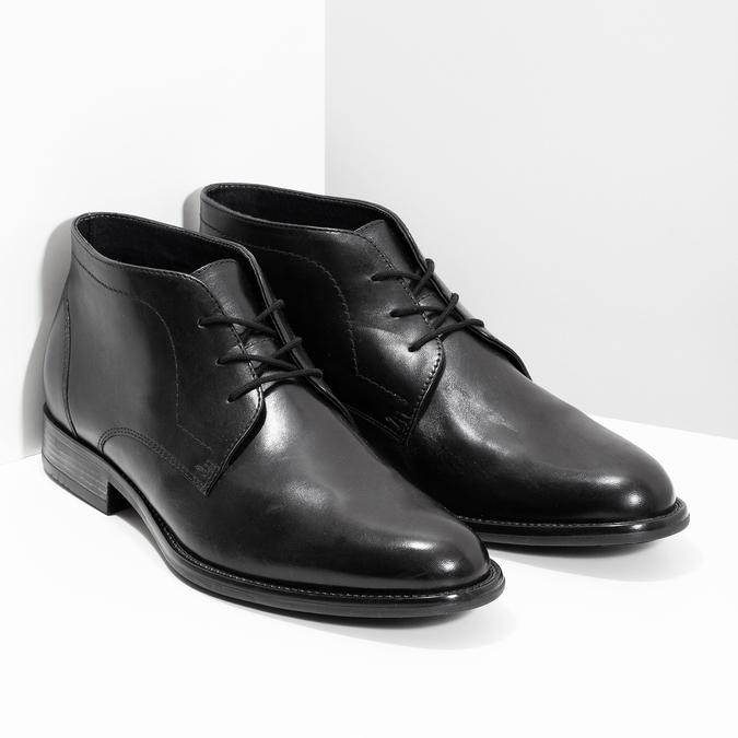 0cc994b23f Bata Pánska kožená členková obuv - Elegantné